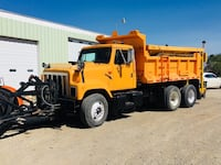 2000 international dump truck with plow and sander Spanish Fork, 84660