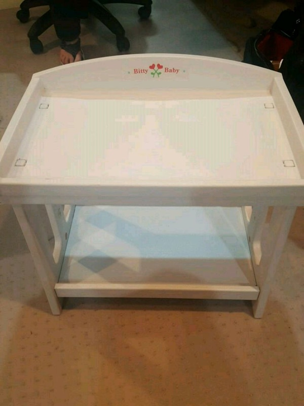 American Girl Doll Bitty Baby changing table