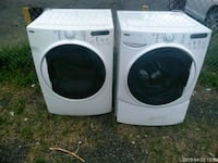 white front load washer and dryer set Silver Spring, 20906