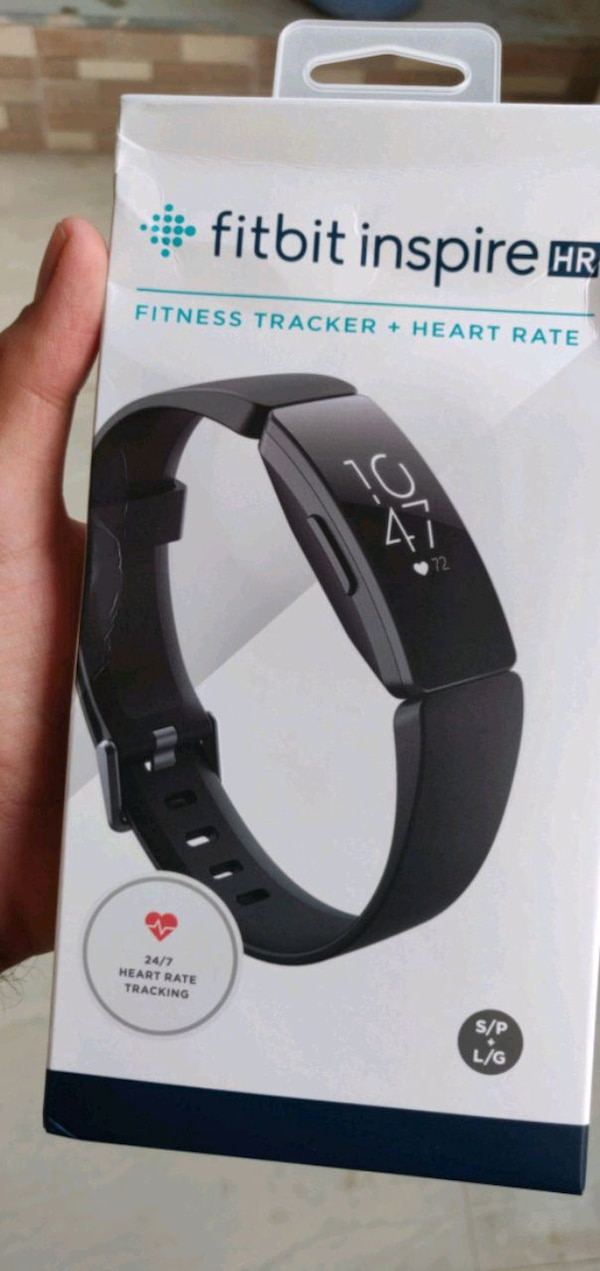 Fitbit Inspire HR Fitness Tracker (Sealed Pack)