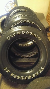 Set of 275/70R18 Firestone