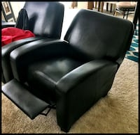 Faux Leather  Recliner Matteson