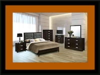 B120 11pc bedroom set with mattress Upper Marlboro, 20772