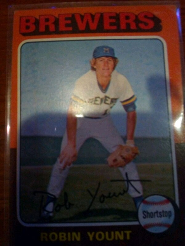 Robin Yount Rookie Card
