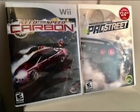 Wii Need for Speed Carbon & Prostreet Welland, L3C 4Z4