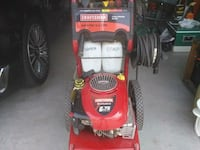 red and black Troy-Bilt pressure washer Tracy, 95391