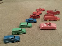 1950's Toy cars