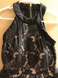 "Black & Nude colored ""Forever 21"" dress; Size Small Donna, 78537"