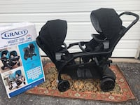 New Graco modes duo double stroller  304 mi