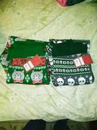 Christmas pjs for women SIZE L. $5.00 each