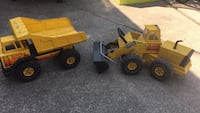 Metal Tonka Trucks from the 80's Madison Heights, 48071