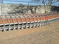 gray and brown shopping cart lot Phoenix, 85085