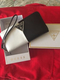 Guess USA Ladies Wallet Brand New in gift box - black and white Sunrise, 33323