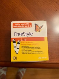 100 freestyle strips for diabetics Regular price $100 selling for $50 Vaughan, L4J 6X6