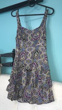 women's multicolored floral sleeveless dress Toronto, M6L 1L1