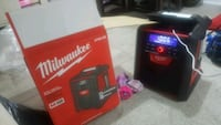 Bluetooth milwaukee charger and bluetooth speaker Caledon, L7C 1X3