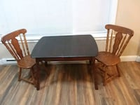 Solid wood small kitchen table with chairs Stroudsburg, 18360
