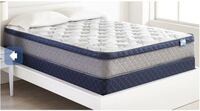 Springwall Pocket Coil Euro Top Full/Double Mattress Vaughan, L6A 1S6