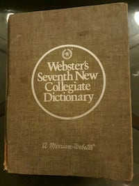 Webster's Seventh New Collegiate Dictionary Slidell, 70460
