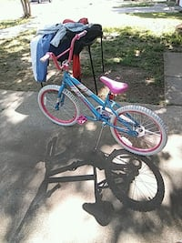 blue and pink bicycle with training wheels Arlington, 76014