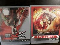 WWE 2K15 AND HEAVENLY SWORD THE BEST PS3 GAMES