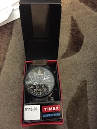 Timex expedition watch leather band brand new $115 Hamilton, L8M 2B5