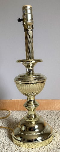 """Table Lamp""""  Brass"""