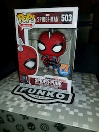 Spider Punk exclusive funko pop (FIRM PRICE) Toronto, M1L 2T3