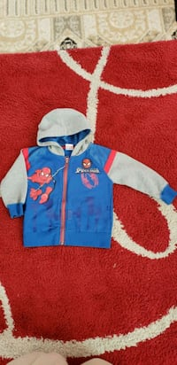 Spiderman hoodie for 3 year old at Coventry Calgary, T3K 6J7
