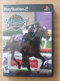 Horse Racing video game ps2