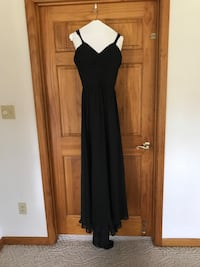 Black Gown with Crystals.  Smyrna, 19977
