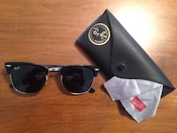 Black Rayban Clubmaster sunglasses with leather case Jefferson City, 65109