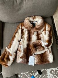 Stand-Collar Mink Fur Jacket 埃利科特城, 21042