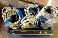 KVM SWITCH 8 port with 5 cables Edison, 08820