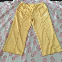 Vintage Adidas yellow capri trackstar pants Virginia Beach, 23451