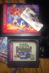 Sonic For Sega // And Nhl For SegaGameGear!!! Brantford, N3S 3T3