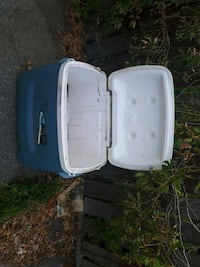 white and blue plastic container Kelowna, V1X 6R8