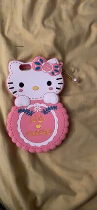 Hello kitty rounded iPhone 6 Plus case New York, 10038