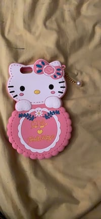 Hello kitty rounded iPhone 6 Plus case
