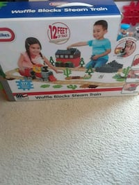 Kids toy train set