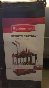 Rubbermaid sports station organizer box Perris, 92570