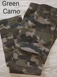 8S SLIM CARGO pants $20 nwt Green Camo or Gray Camo, Navy NEW Manchester, 03103