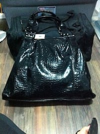 Fiori Firenze large black Croco handbag - brand new with tags Bradford West Gwillimbury, L3Z 2A4