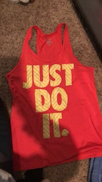 women's red and black tank top Coppell, 75019