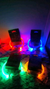 LED Dog Collar, USB Rechargeable Water Resistant  Brampton, L7A 1L4