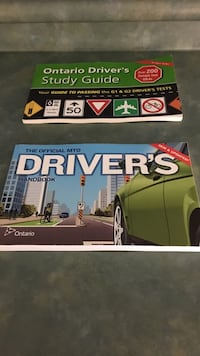 Ontario driver's study guide/ the official not driver's handbook! New! 2 for the price of one!!!! Uxbridge, L9P 1R3