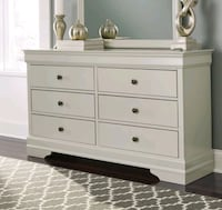Brand New Ashley Gray Dresser for Sale in Baltimore Baltimore
