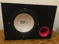 Rs 1600 watt 400 rms subewoofer