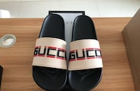 Gucci stripe rubber slide sandal size 10.5 Temple Hills, 20748