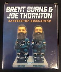 San Jose Sharks Bobblehead barber shop